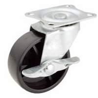 Polypropylene Caster Side Brake